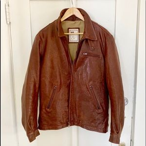 BSF Of Florence Leather Military Jacket